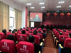 九江一中组织全体党员集中收看十九大开幕式